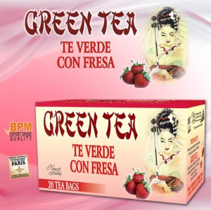 te chino green tea fresa